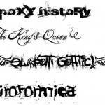 tatuagem letras